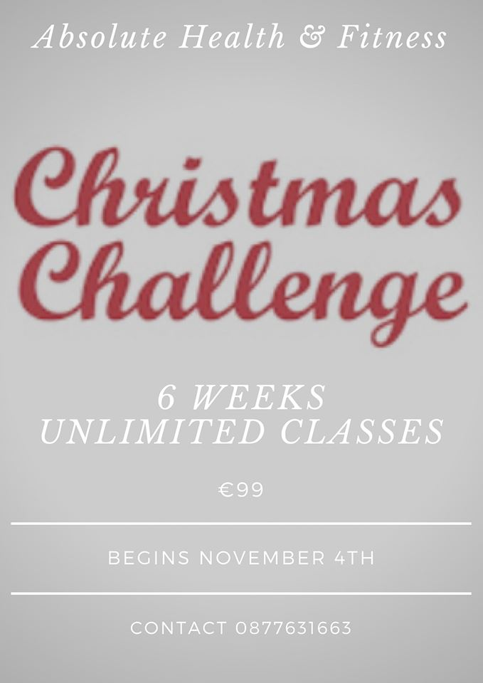 Absolute Health and Fitness Christmas Challenge
